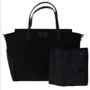 Kate Spade Black Taden Diaper Bag